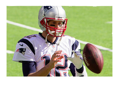 Tom Brady - National Football League - NFL - Team: New England Patriots - Stock photo
