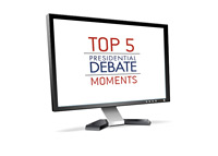 Top 5 Presidential Debate Moments on TV - Illustration