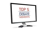 Top 5 Presidential Debate Moments on TV - Illustration