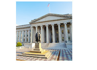 The Treasury Building - United States of America