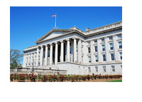 The Treasury Department Building - United States