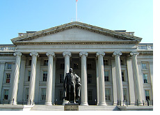 -- U.S. Treasury Department Building, Washington --