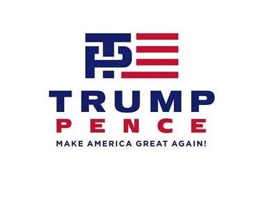 Trump Pence 2016 campaign logo