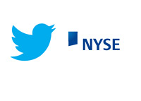 Twitter Bird Logo and NYSE Logo