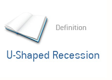 definition of the term - u-shaped recession