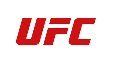 The Ultimate Fighting Championship - UFC - Logo - Red lettering on white background.