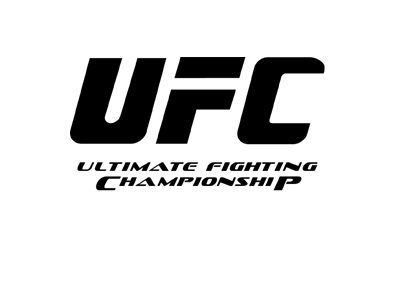 The Ultimate Fighting Championship (UFC) logo - Black colour