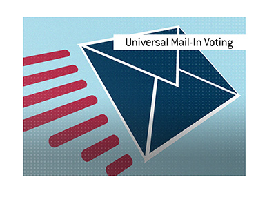 The meaning of the term Universal Mail-In Voting is explained in this article.  How does this process work?