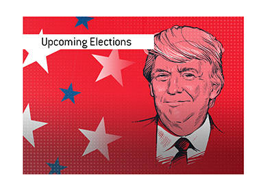 The upcoming elections in the United States will see the incumbent president Donald Trump face off with...