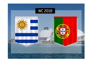 Uruguay vs. Portugal betting odds and match preview - Fisht Stadium, Sochi, Russia.  WC 2018.
