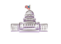 U.S. Congress Building - Illustration
