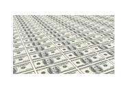 U.S. Dollars on a Printing Press