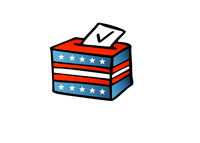 US Election Ballot - Illustration