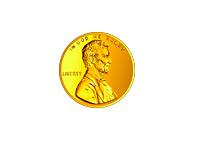 USD Penny - Illustration