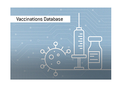 The issue of vaccinations database in the United States.