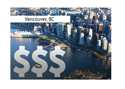 Vancouver, British Columbia. Real estate prices have been the topic of conversation in the city for some time.