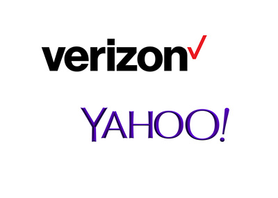 Verizon complets sale of Yahoo - Company logos