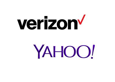Verizon complets sale of Yahoo - Company logos