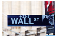 Wall Street Sign - Photograph