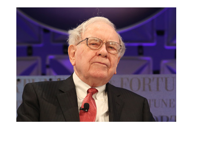 The famous investor Warren Buffet is caught on camera deep in thought.