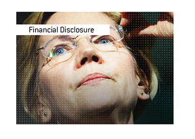 Elizabeth Warren financial portfolio.