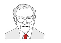 Warren Buffett - Illustration