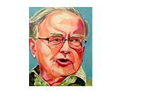 Warren Buffett Painting