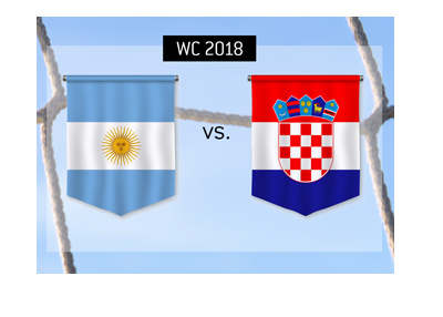 Argentina vs. Croatia - World Cup 2018 group stage match odds and preview.  Bet on it!