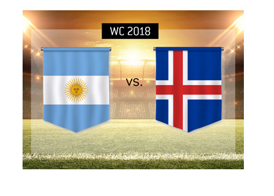 Argentina play vs. Iceland in the group stage of the 2018 World Cup in Russia - See the odds - Bet on the game!