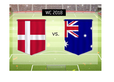 The World Cup 2018 group stage - Denmark vs. Australia - Match betting odds and preview.