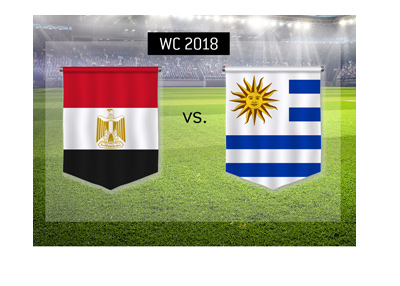 The World Cup 2018 match preview and odds - Egypt vs. Uruguay - Bet on it!