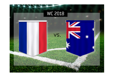 World Cup group match preview and odds. France vs. Australia.  Bet on it!