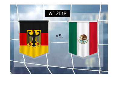The reigning champions Germany play Mexico in their opening match at the 2018 World Cup in Russia.