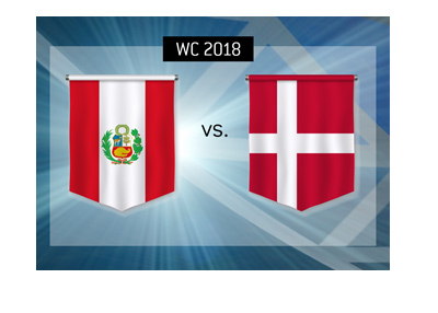 The World Cup 2018 group stage match between Peru and Denmark - Betting odds and match preview.