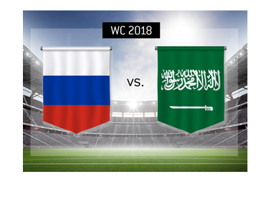 The World Cup 2018 - Russia vs. Saudi Arabia - Matchup, preview, news and betting odds.