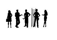 Worker Silhouettes - Illustration