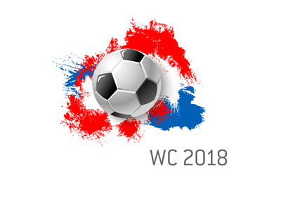 The 2018 World Cup in Russia - Art presentation.  Bet on it!