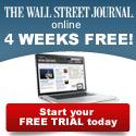 WSJ - 4 Weeks Free - Special Offer