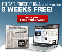 The Wall Street Journal - 8 Weeks Free - Special Offer