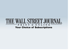 -- subscription for the wall street journal --