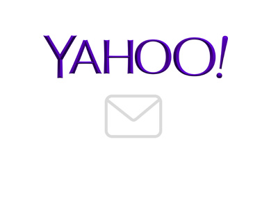 Yahoo and email icon - Current in year 2016