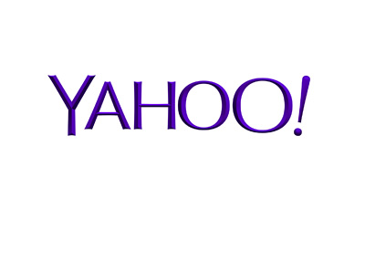Yahoo company logo as it was in year 2016