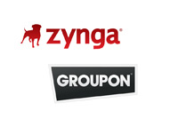 Zynga and Groupon - Company logos